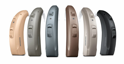 Orion 2 Signia Siemens Hearing Aid Colors